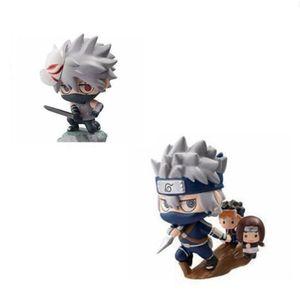 Image 5 - 1 pcs Cartoon נארוטו קאקאשי 6 סוגים של סגנון חמוד Ninja PVC דגם אנימה אוסף פסל איור קיד מתנת צעצוע