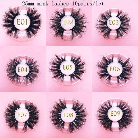 atacado mikiwi luxo 25mm real vison cilios 16 estilos natural 100 artesanal reutilizavel maquiagem ferramentas