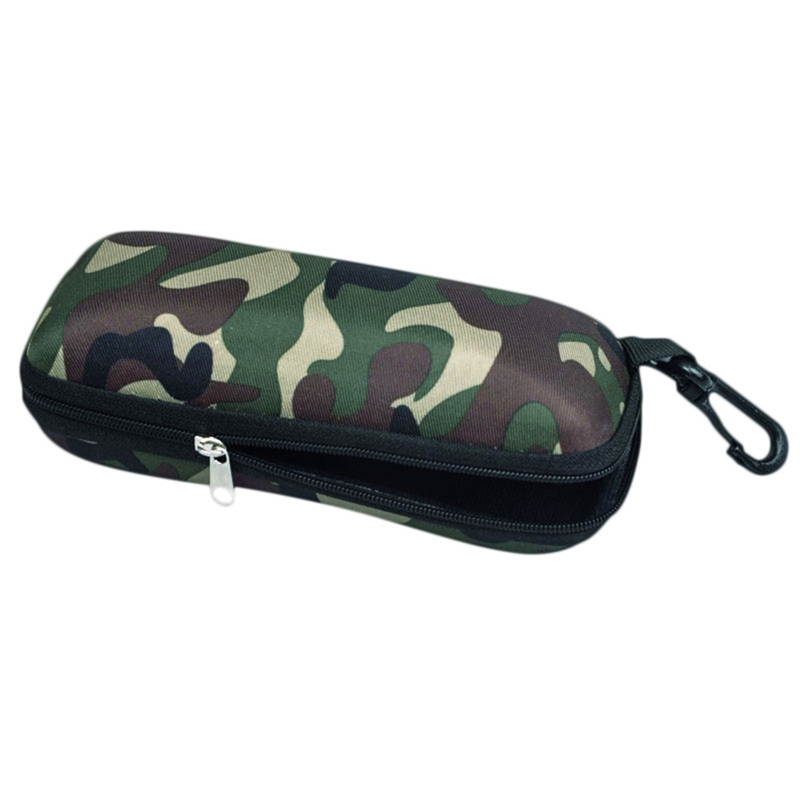 Tactical EVA Portable Sunglasses Box Camouflage Zippered Goggle Box Glasses Bag Case Outdoor Accessory Bags Emergency Kits
