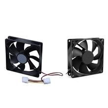 HOT-2Pcs втулка подшипника охлаждающий вентилятор для ПК чехол кулер процессора-120 мм x 25 мм DC 24 В 4Pin& 92 мм x 25 мм 24В 2Pin