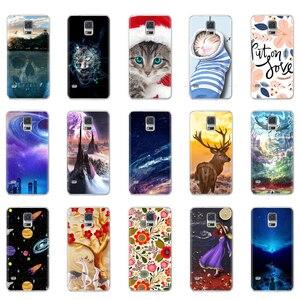 Soft Silicon Case for Samsung Galaxy S5 S 5 SV i9600 G900F S5 Neo SM-G903F G903 S5 Duos G9006 G9006V Cover Case Coque TPU Bumper(China)