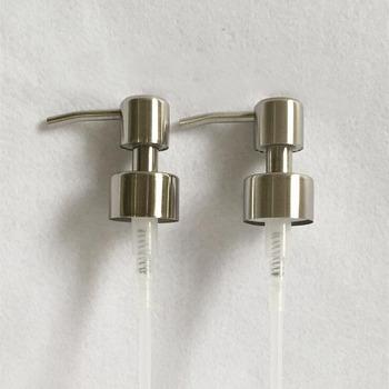 Ręczne mydło w płynie dozownik z pompką dysza do łazienki kuchnia ze stali nierdzewnej zlew z pianki mydło w płynie dysza akcesoria łazienkowe tanie i dobre opinie Cxbfg CN (pochodzenie) Other Dozownik mydła ręcznie Liquid Soap Dispenser Metal STAINLESS STEEL Soap Dispenser Nozzle