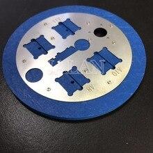 Микроскоп отпечатков пальцев база для iphone cpu позиционирование отпечатков пальцев фиксация отпечатков пальцев крышка клей для ремонтных работ инструмент для удаления