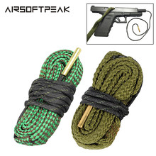 Hunting Pro .22cal 5.56mm .38cal 9mm Gun Cleaning Kit Bore Cleaner Rope Tactical Rifle Cleaning Tool Barrel Caliber Accessories