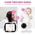 3,5 дюймов Беспроводной Детский видео монитор VOX камера безопасности няня ИК ночного видения голосовой звонок Babyphone с контролем температуры