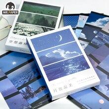Greeting-Decor Postcards Traveler-Series Mr.paper Writing 30pcs/Box Collage-Material