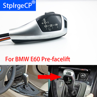 For BMW 5 series 2004 2006 E60 Sedan pre LCI Pre facelift LHD Automatic Updated Look LED Gear Shift Knob Car Parts