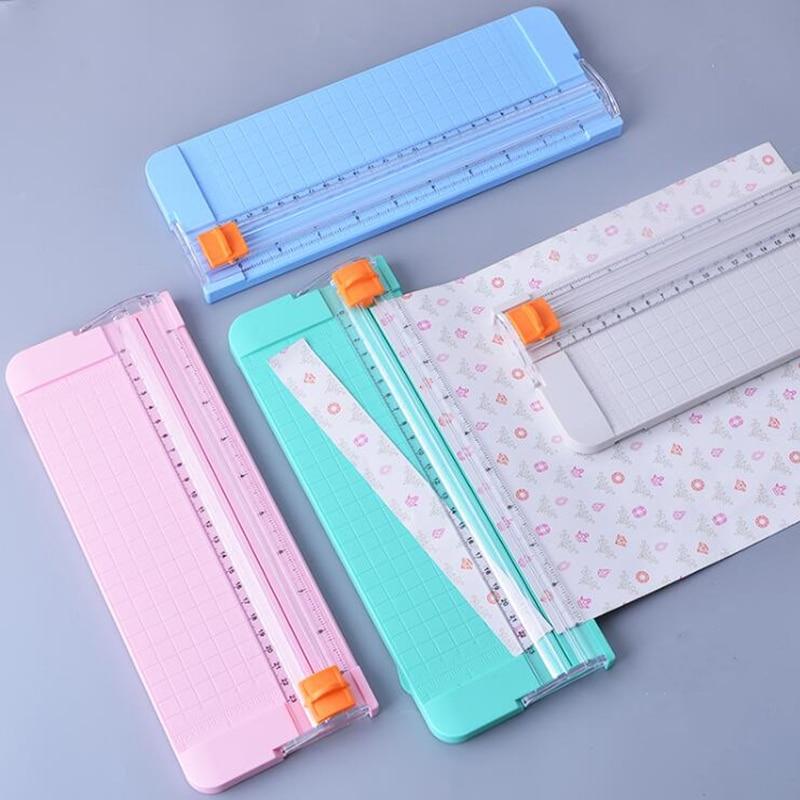 Mini Desktop paper cutter A4/A5 Paper Trimmer card Photo scrapbooking machine cutting knife diy craft scrapbook office supplies