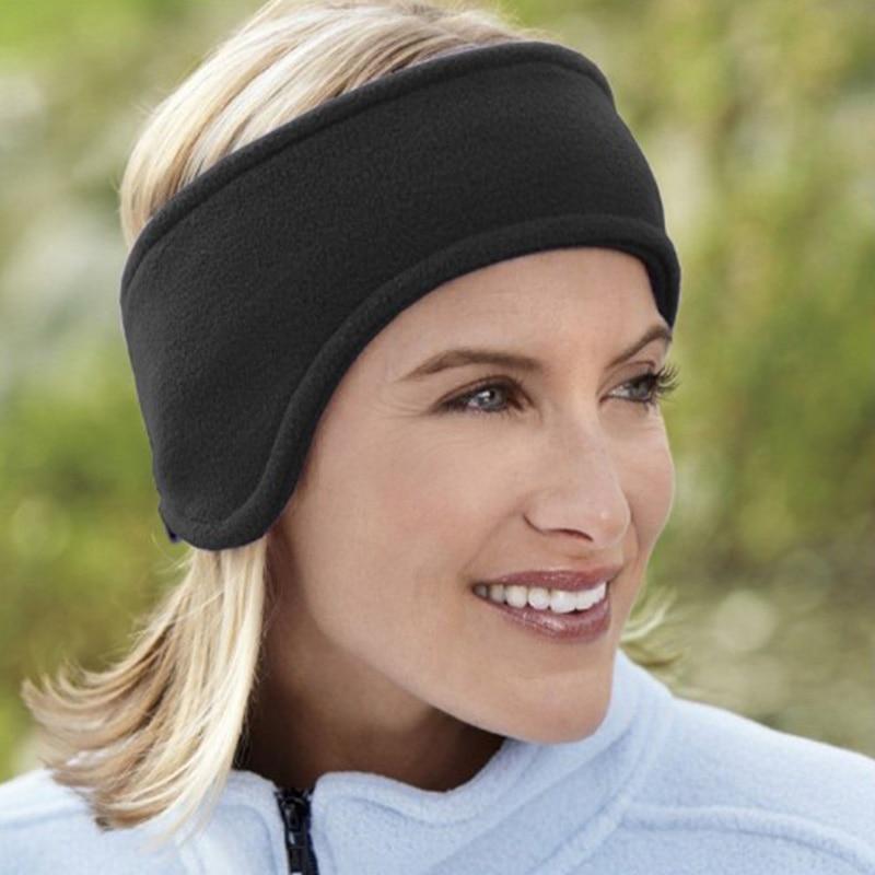 Winter Warm Earmuffs Unisex Ear Cover Adjustable Head Band Fleece Thicked Ear Protector Winter Earmuffs