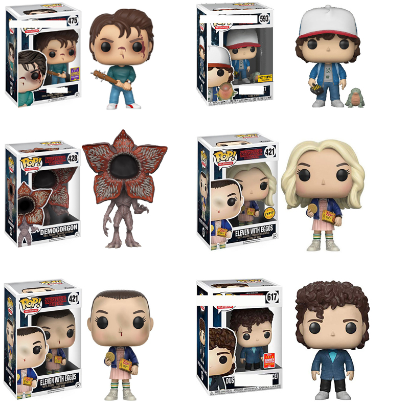 Funko POP Stranger Things Will Keychain Eleven Demogorgon Collection Action Figures PVC Model Toys Halloween Gift For Kids