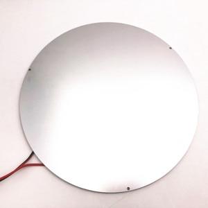 Image 4 - 3mm อลูมิเนียม 240 มม.hotbed 4 มม.Ultrabase สร้างพื้นผิวจานแก้วสำหรับ DIY ANYCUBIC รอก/Linear PLUS kossel 3D เครื่องพิมพ์