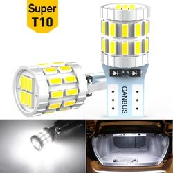 2x LED T10 W5W Canbus Bulbs 168 194 Car Parking Lights For VW Golf 4 5 6 7 Passat B5 B6 B7 Jetta MK4 MK5 MK6 Polo 6r CC Tiguan