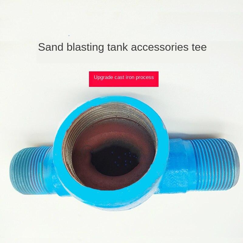 Contrôle de l'air sablage peut accessoires bouche Simple sable réglage vanne épaissie sable fuite Valve té