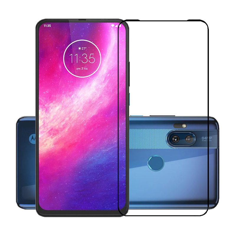 2.5D 9H Premium Tempered Glass For Motorola One Hyper Full Coverage Screen Protector Protective Film For Moto One Hyper