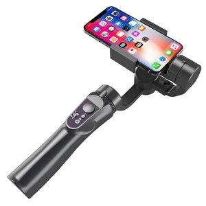 Image 4 - 3 축 핸드 헬드 짐벌 스마트 폰 안정기 USB 충전 비디오 녹화 지원 범용 조절 방향 Vlog Live