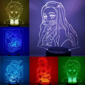 Lámparas 3D de Kimetsu no Yaiba Kimetsu no Yaiba