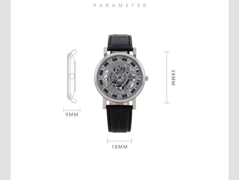 Mreurio мужские часы новый роскошный высоко технологичный ретро