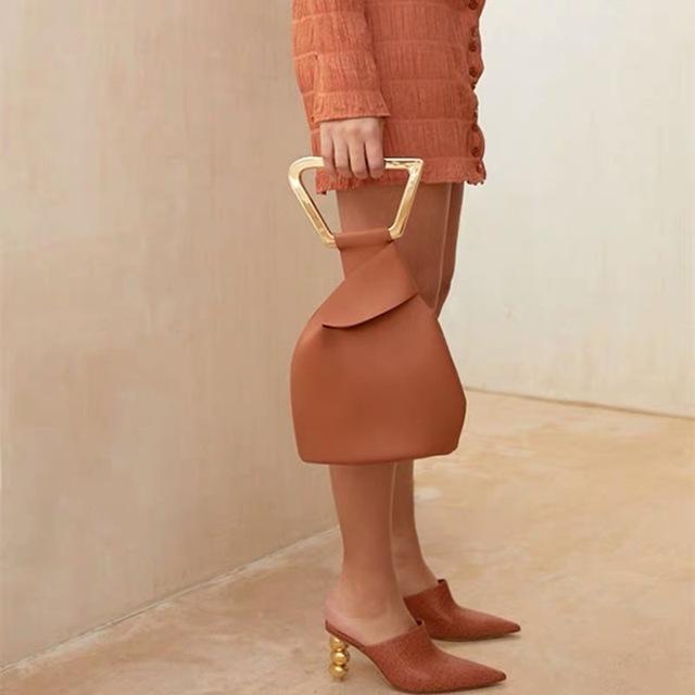 Acrylic Handle Handbags