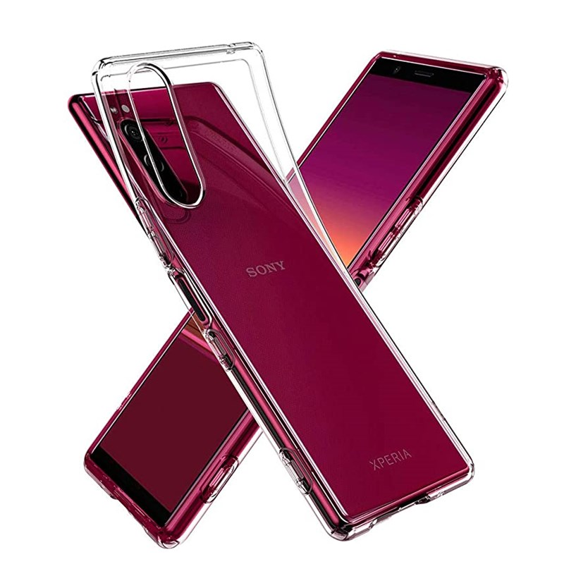 Clear Bumper Case For Sony Xperia <font><b>1</b></font> <font><b>5</b></font> <font><b>10</b></font> E5 XA XA2 XZ XZ1 XZ2 XZ3 Plus Utlra L1 L2 L3 L4 Soft TPU Ultra Thin Phone Case Cover image