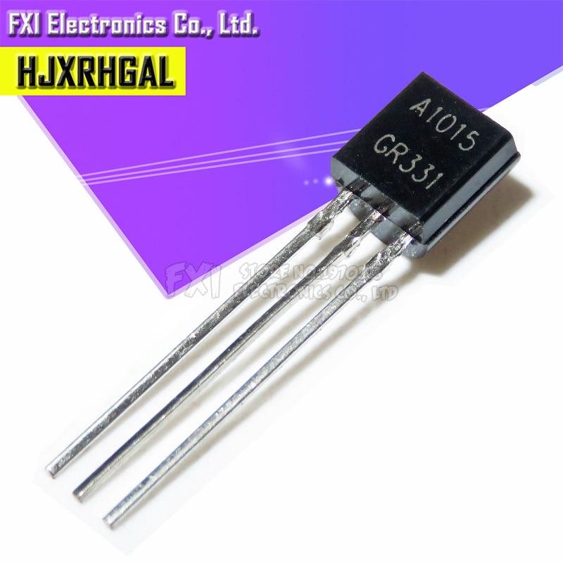 100PCS 2SA1015 TO92 A1015 TO-92 1015 0.15A 50V PNP Triode Transistor New Original