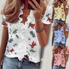 New Elegant Blouse Shirt Women Streetwear Womens Tops and Blouses Ladies Top Tee White Shirts Long / Short Sleeve Plus Size 5XL