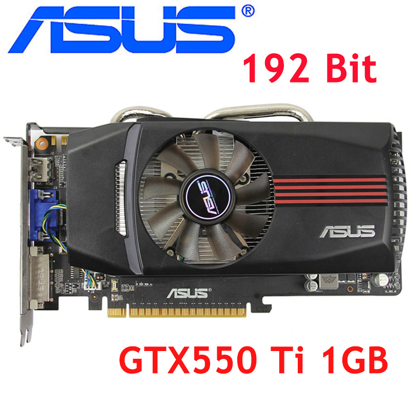 ASUS Graphics-Card GDDR5 Used Nvidia Ti GTX550 Geforce Gtx GT630 192bit 1GB VGA Equivalent title=