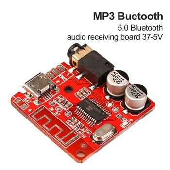 Bluetooth Stereo Audio Music Module 3.7-5V Wireless Adapter5.0 MP3 Lossless Decoding Board 3.5mm Car Bluetooth Audio Receiver image