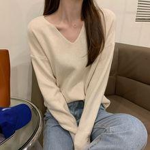 Новый женский свитер для осени и зимы универсальный пуловер