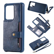 Flip Wallet Case For Samsung Galaxy S20 S20 Plus Card Holders Back Pocket Case For Samsung S20 Ultra Phone Cover