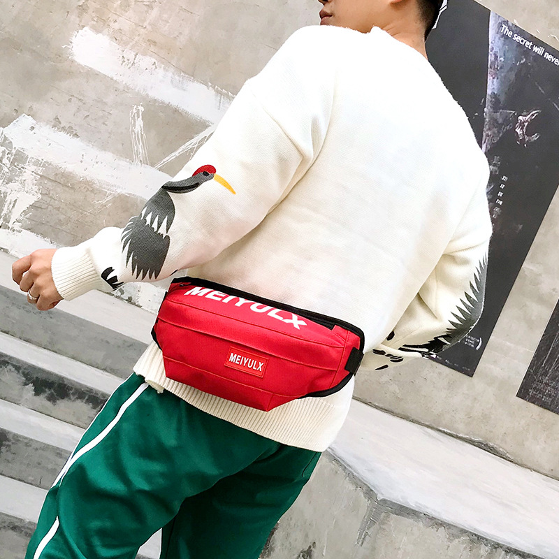 New Style Fashion For Men And Women Chest Pack Outdoor Riding Cool Wallet Multi-functional Bag Mobile Phone Storage Wallet