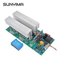 SUNYIMA Pure Sine Wave Inverter DC 12V 24V 36V 48V 60V To 220V 1500W/3000W/4000W/5000W/6500W Power Frequency Inverter