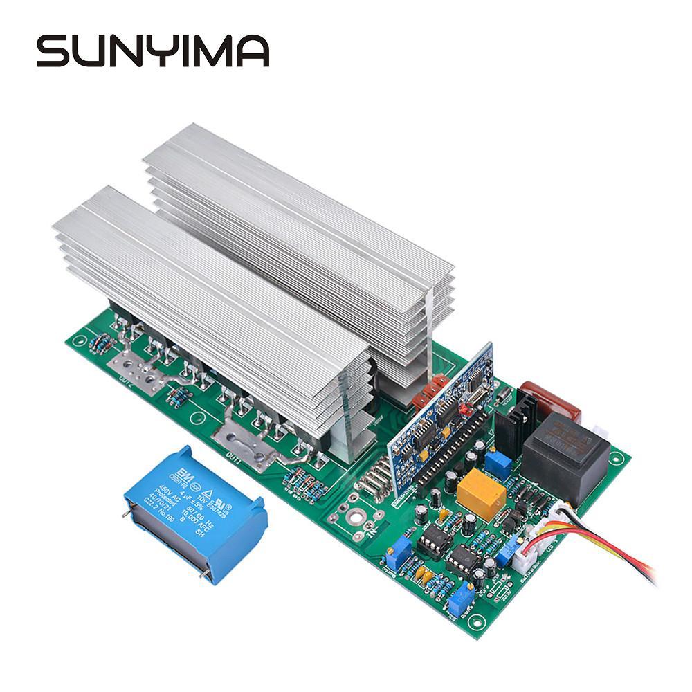 Sunyima inversor de onda senoidal pura dc 12v 24v 36 48v 60v a 220v 1500w/3000w/4000w/5000w/6500w/w inversor de frequência de potência
