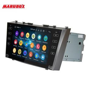 Image 3 - MARUBOX עבור טויוטה קאמרי 2006 2012 רכב מולטימדיה נגן אנדרואיד 10.0 GPS רכב רדיו אודיו אוטומטי 8 ליבות 64G, IPS, DSP KD9617