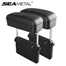 Universale Auto Bracciolo Scatola di Supporto del Gomito Regolabile Car Center Console Bracciolo Car Styling Auto Sede Gap Organizer Bracciolo box(China)
