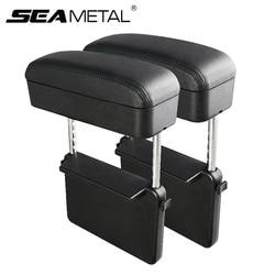 Universal Car Armrest Box Elbow Support Adjustable Car Center Console Arm Rest Car Styling Auto Seat Gap Organizer Arm Rest Box