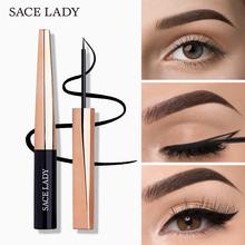 Płynny Eyeliner ołówek wodoodporny czarny eyeliner Quick Dry eye maquiagem łatwy w użyciu niełatwy do rozmazywania Eyeliner Cosmetic tanie tanio SACE LADY Ciecz CHINA GZZZ YGZWBZ 2018011432 SL343 Długotrwała Łatwe do noszenia Szybkie szybkie suche Naturalne 0 015kg