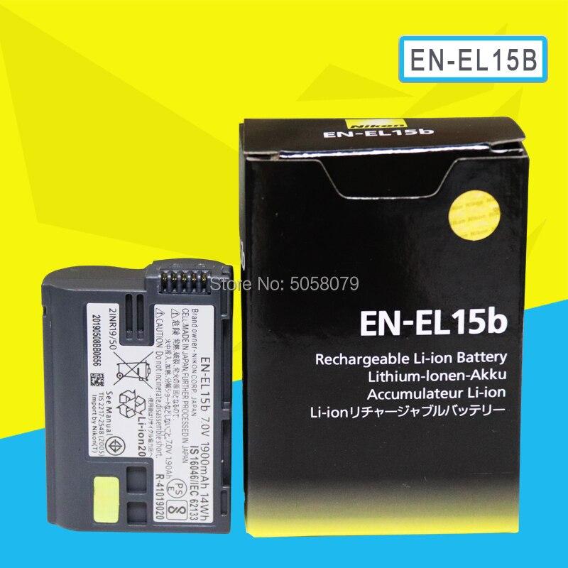EN-EL15b ENEL15b es EL15b de batería de la cámara para Nikon Z6 Z7 Mirrorless D850 D810 D750 D610 D7500 D7200 MH-25