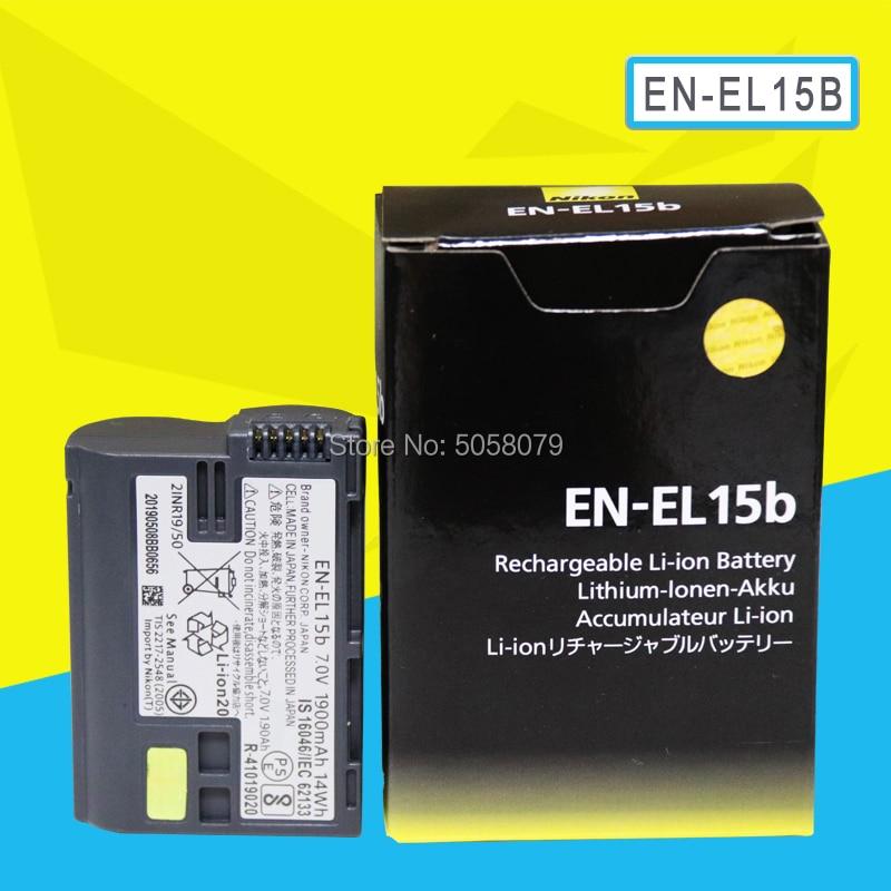 EN-EL15b ENEL15b EN EL15b Camera Battery For Nikon Z6 Z7 Mirrorless D850 D810 D750 D610 D7500 D7200 MH-25