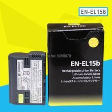 Аккумулятор для камеры ENEL15b, ENEL15b, EN EL15b, для Nikon Z6, Z7, беззеркальных зеркальных фотокамер D850, D810, D750, D610, D7500, D7200, EN-EL15b