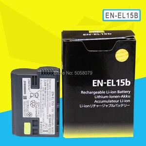 EN-EL15b ENEL15b EN EL15b Camera Battery For Nikon Z6 Z7 Mirrorless D850 D810 D750 D610 D7500 D7200 MH-25(China)