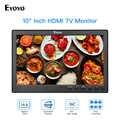 Eyoyo شاشة تلفاز IPS صغيرة 10 بوصة HDMI 1024x600 شاشة LCD مع HDMI VGA AV USB جهاز تحكم عن بعد لشاشة CCTV