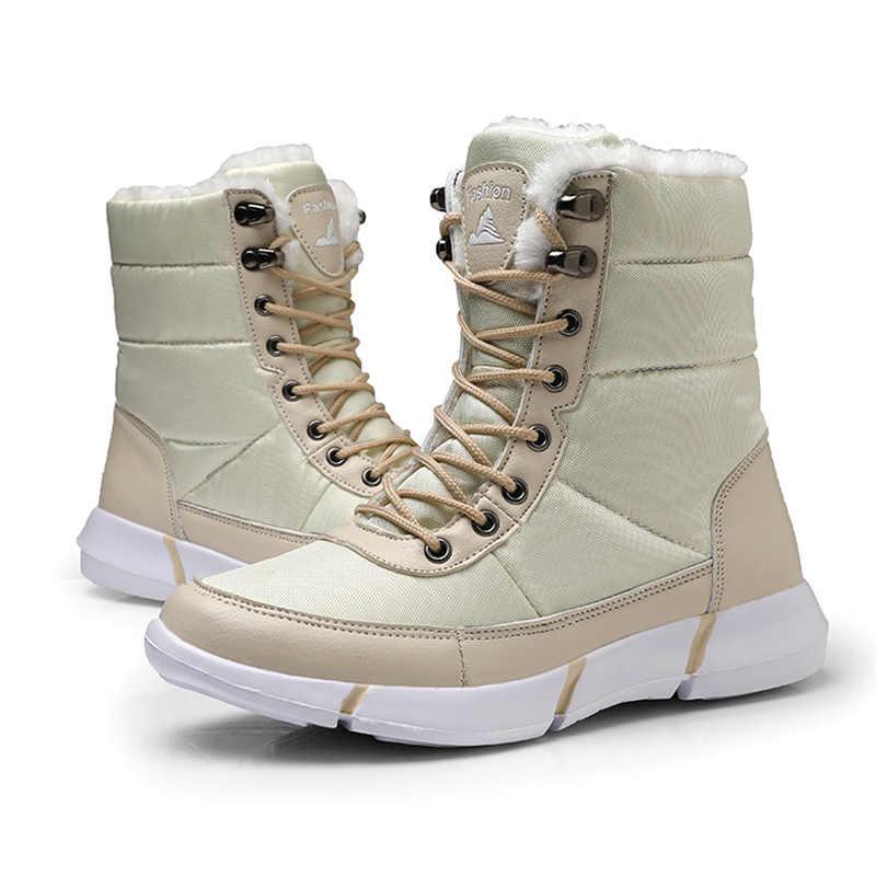 Bota Feminina Mannen Winter Laarzen dames Enkellaarsjes Voor Mannen Winter Schoenen Mannen snowboots mujer Plus Size
