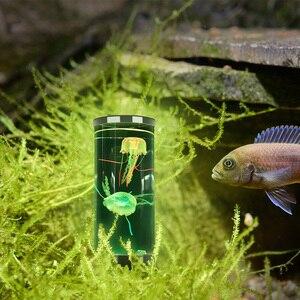 Светодиодный фантазия медузы лампа USB Мощность/Батарея Мощность ed Цвет изменение Медузы аквариум светодиодный светильник расслабляющий настроение Ночной светильник #|Ночники|   | АлиЭкспресс