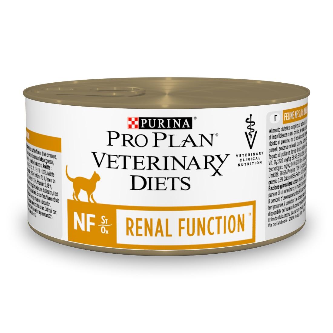 Консервированный корм Pro Plan Veterinary diets NF для кошек при патологии почек Консервы 195