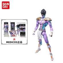 Medicos Pvc 16Cm Anime Figure Jojo's Bizarre Adventure Figure Star Platinum Action Anime Figure Model giocattoli per bambini