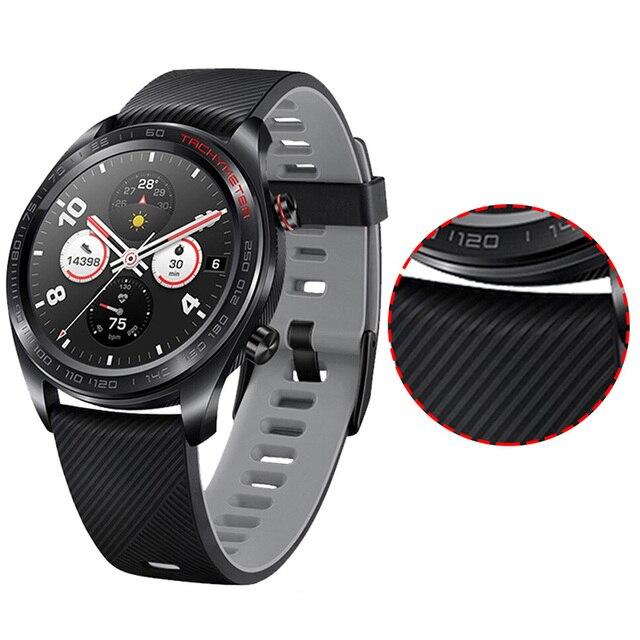 Фото ремешок силиконовый для huawei watch gt/gt 2 46 мм браслет смарт цена