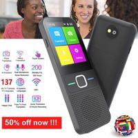Traductor de voz sin conexión T10, dispositivo portátil inteligente de 137 idiomas, en tiempo Real, sin Internet
