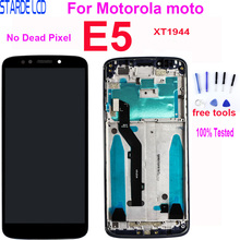 5.7 LCD For Motorola moto E5 XT1944 LCD Display Touch Screen Digitizer Assembly Replacement Parts For Moto E5 With Frame