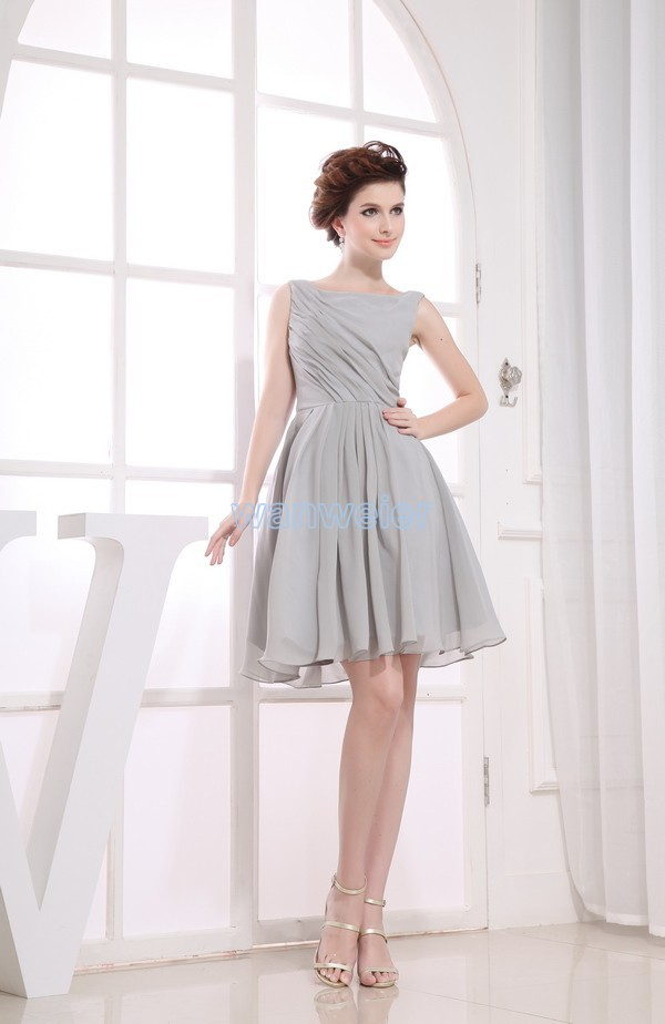 free shipping 2016 chiffon vestidos formales new Mother Dress brides maid dress gown custom size/color short Bridesmaid Dresses