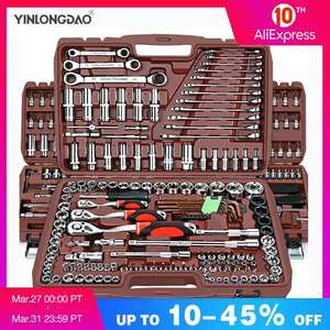 Torque Wrench Socket-Set Combination-Bit-A-Set Car-Repair-Tool Keys Universal Multifunction